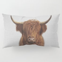 Highland Cow - Colorful Pillow Sham