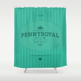 Pennyroyal Tea Shower Curtain
