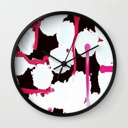 Pretty Enough III Wall Clock
