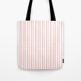 Pink Stitches Tote Bag