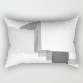 Cubic house No.3 - minimalist architecture Rectangular Pillow
