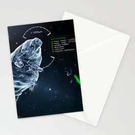 little tardigrade - big survivalist Stationery Cards