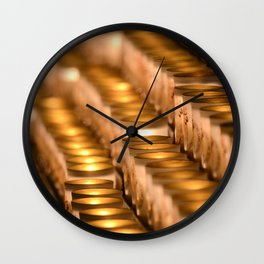 Light Inside Wall Clock