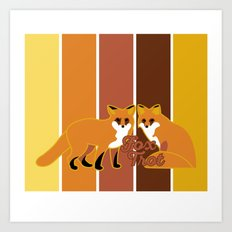 Fox Trot 2.0 Art Print