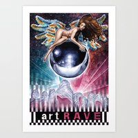 artrave Art Prints featuring artRAVE by Denda Reloaded