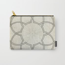 Geometry Sketch Eleven Carry-All Pouch