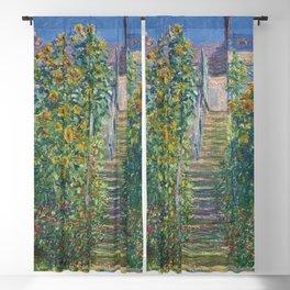 """Claude Monet """"L'Escalier à Vétheuil"""" Blackout Curtain"""