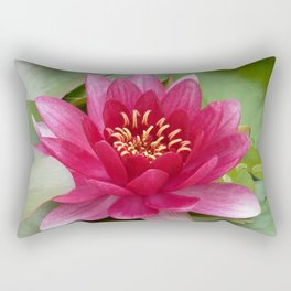 Water lily Rectangular Pillow