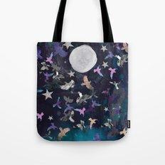 Midnight Birds Tote Bag