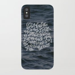 Oceans iPhone Case