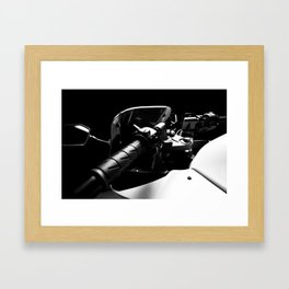 Kawasaki Ninja Motorcycle Wall Art I Framed Art Print