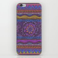 spice iPhone & iPod Skins featuring Spice Bloom by Janet Broxon