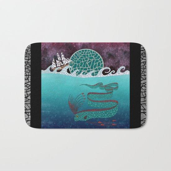 Ore Fish Mosaic Bath Mat