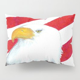 Eagle And Flag Pillow Sham