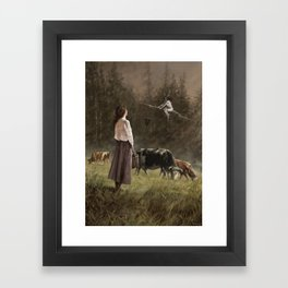 If I only could... Framed Art Print