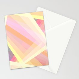 Abstract Geometric Shape Stationery Cards