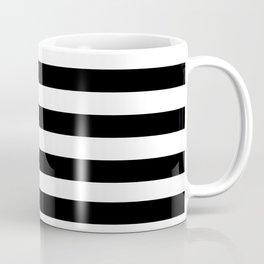 Black + White Stripe III Coffee Mug