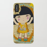 bonjour iPhone & iPod Cases featuring Bonjour by maru y su cabeza