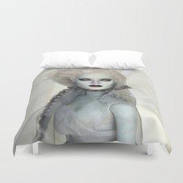 Alabaster Ghost Bride Duvet Cover