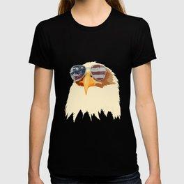 American Bald Eagle USA Flag Sunglasses Patriotic T-shirt
