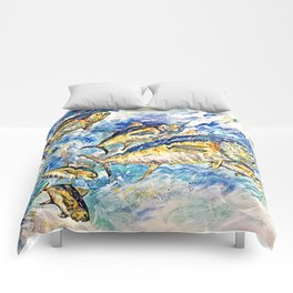 Golden Tuna Comforters