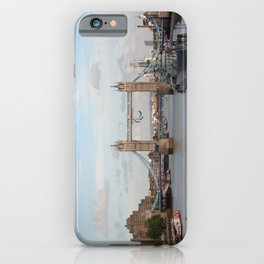 Tower Bridge with Paralympic Symbols iPhone Case