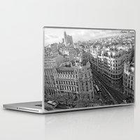 madrid Laptop & iPad Skins featuring Madrid by Cristina Serrano