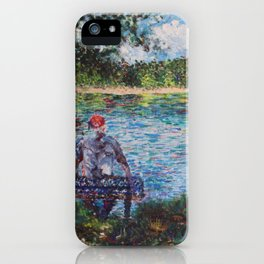 The Old Man and the Lake iPhone Case