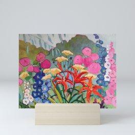 Santa Fe Garden Mini Art Print