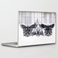 insects Laptop & iPad Skins featuring insects by Alexandra Tamas