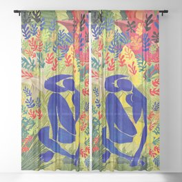 Henri Matisse Wild Sheer Curtain