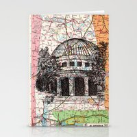 alabama Stationery Cards featuring Alabama by Ursula Rodgers
