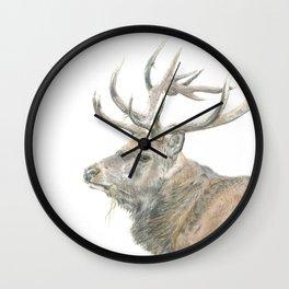 Prongs Wall Clock