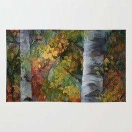 Birch Trees - III Rug