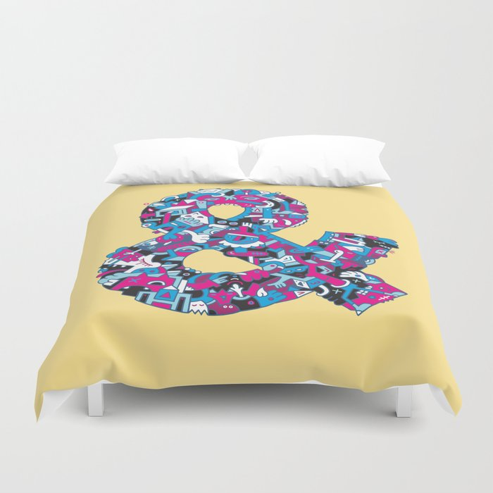 Ampersand Duvet Cover