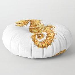 Sea horse, Horse of the seas, Seahorse beauty Floor Pillow