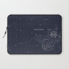 Starscream Star Chart Laptop Sleeve