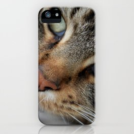 Tell me what the lion said next? iPhone Case