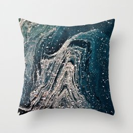 Marbled & Speckled Throw Pillow