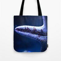 starfish Tote Bags featuring Starfish by Robert Payton