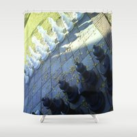 chess Shower Curtains featuring Chess by Beatrice
