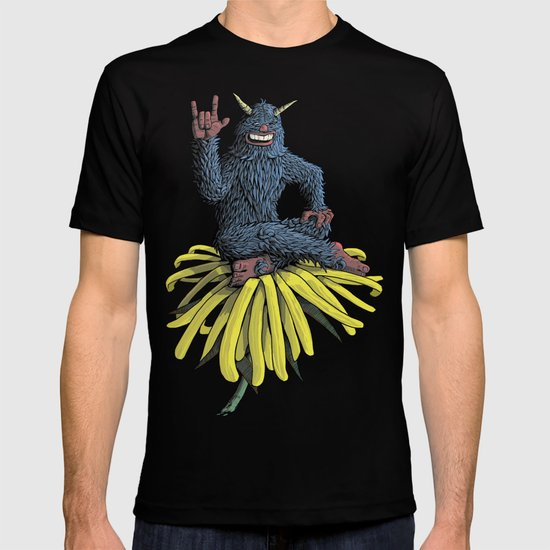 Monster on Oblique Dandelion T-shirt