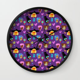 GIRLS PATTERN Wall Clock