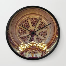 Victorian Painted Ceiling Wall Clock