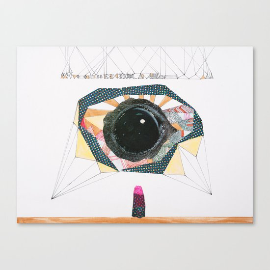 Ancient Eye Canvas Print