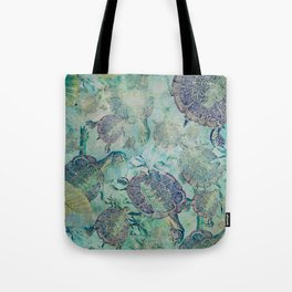 Watery Whimsy Tote Bag