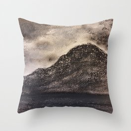 Norwegian Mountain by Gerlinde Throw Pillow