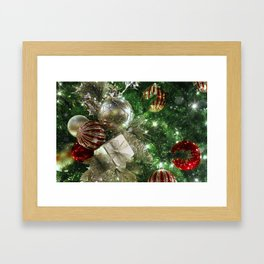 Christmas Time Is Here Framed Art Print
