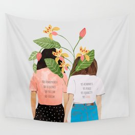 Motto #illustration #concept #painting Wall Tapestry