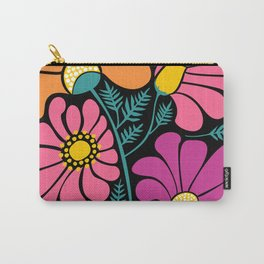 Wildflower Party Carry-All Pouch